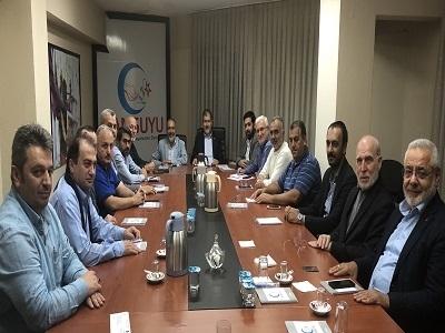 Millî Görüşçü Kuruluşlar Kasım Ayı Koordinasyon Toplantısı Cansuyu İstanbul Temsilciliğinde yapıldı.