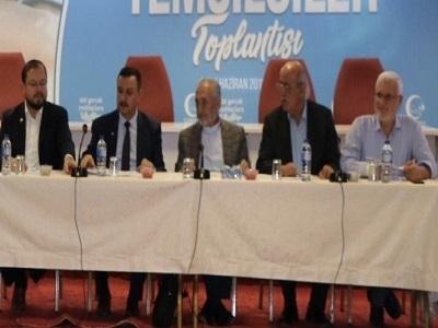 Milli Görüşçü Kuruluşlar MİLKO KOORDİNASYON Toplantısı Ankara'da yapıldı