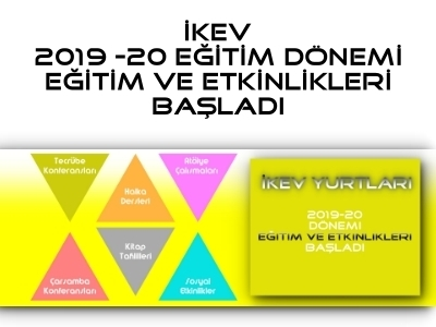 İKEV EĞİTİME DESTEK PRGORAMLARI BAŞLADI...