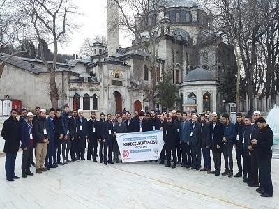 ALİMLER VE TALEBELERİ İSTANBUL'DA İKEV MERKEZİNDE AĞIRLANDI