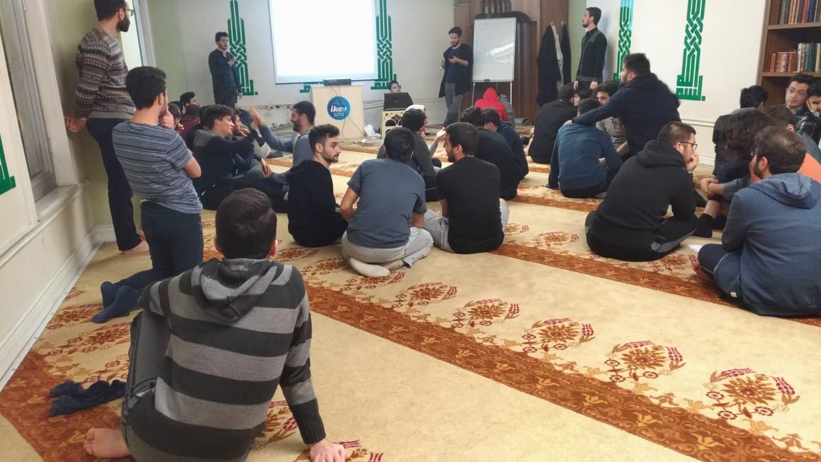 İKEV BAHÇELİEVLER YURDU Yabancı öğrencilerinin de katılımı ile Bilgi Yarışması düzenledi... - Haberler - İKEV - İlim Kültür ve Eğitim Vakfı
