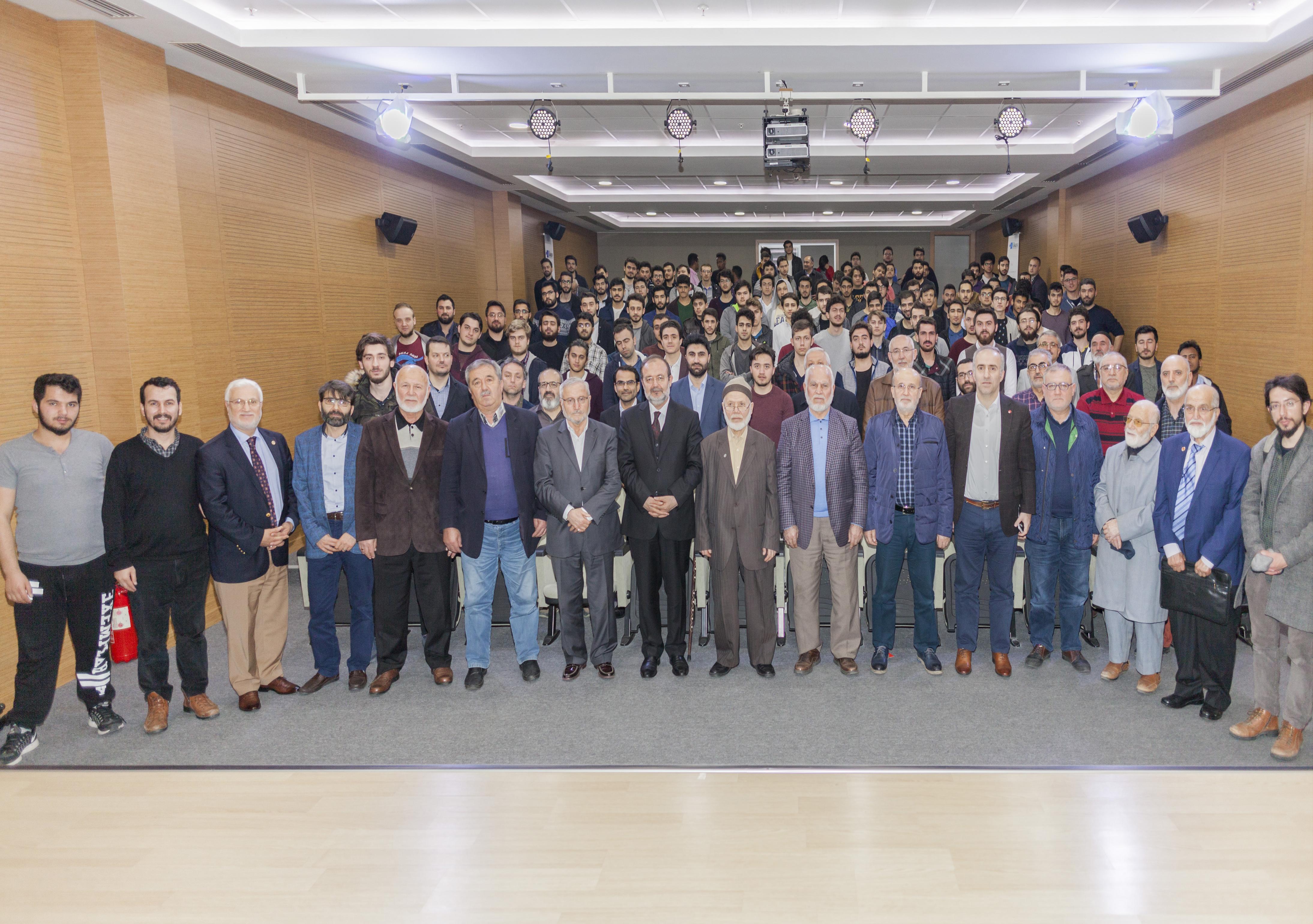 İkev Tecrübe Konferanslarının bu ay ki konuğu Prof. Dr. Mehmet Görmez oldu. - Haberler - İKEV - İlim Kültür ve Eğitim Vakfı