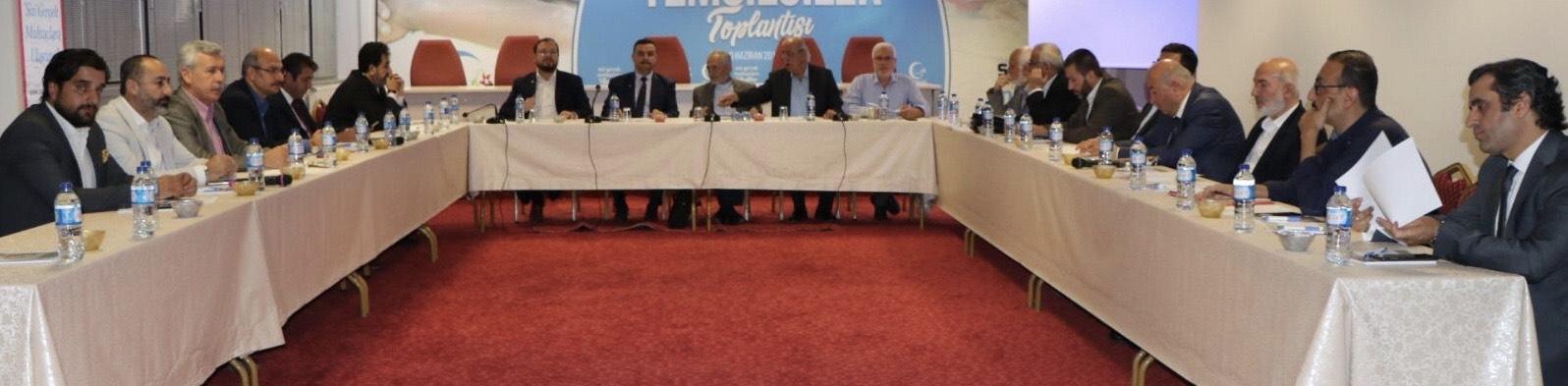 Milli Görüşçü Kuruluşlar MİLKO KOORDİNASYON Toplantısı Ankara'da yapıldı - HABERLER - İKEV - İlim Kültür ve Eğitim Vakfı