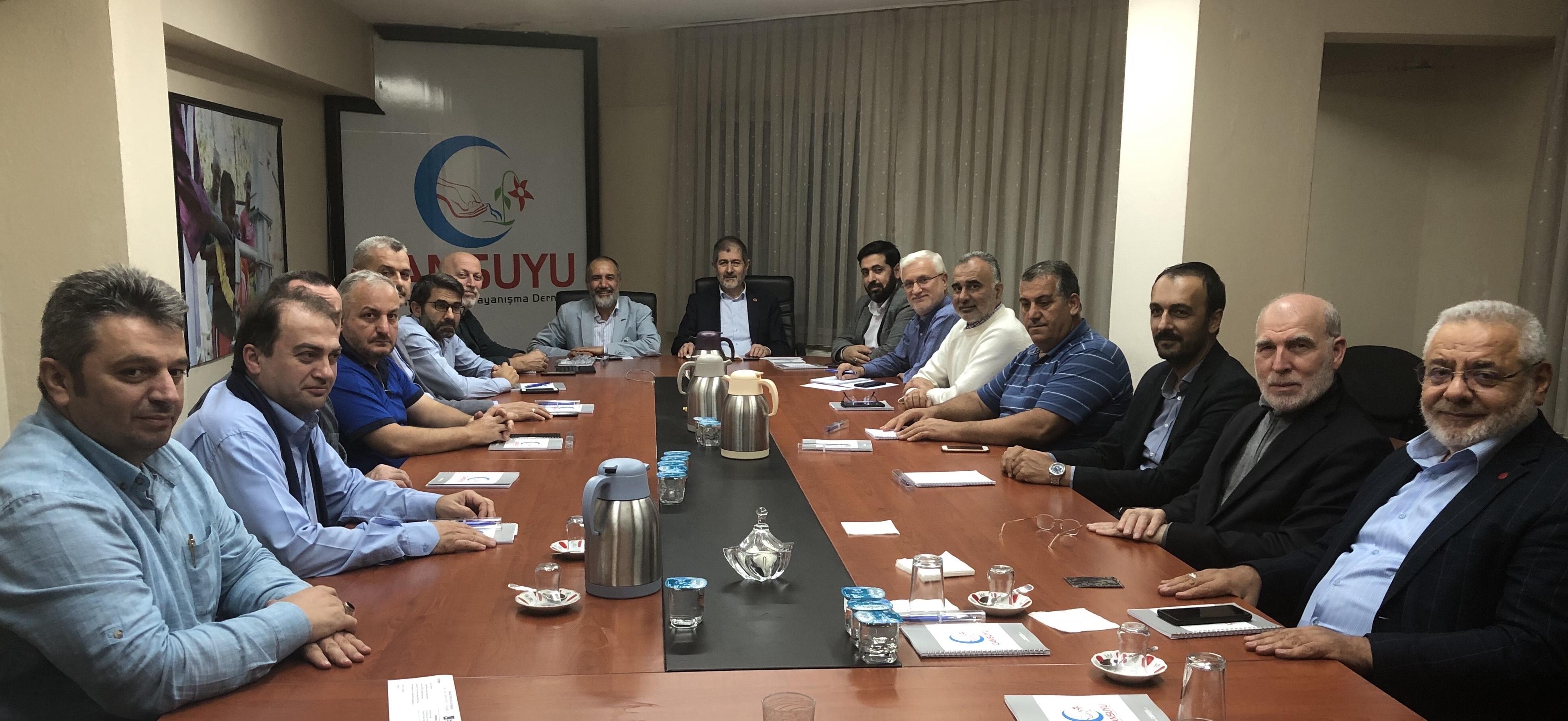 Millî Görüşçü Kuruluşlar Kasım Ayı Koordinasyon Toplantısı Cansuyu İstanbul Temsilciliğinde yapıldı. - HABERLER - İKEV - İlim Kültür ve Eğitim Vakfı