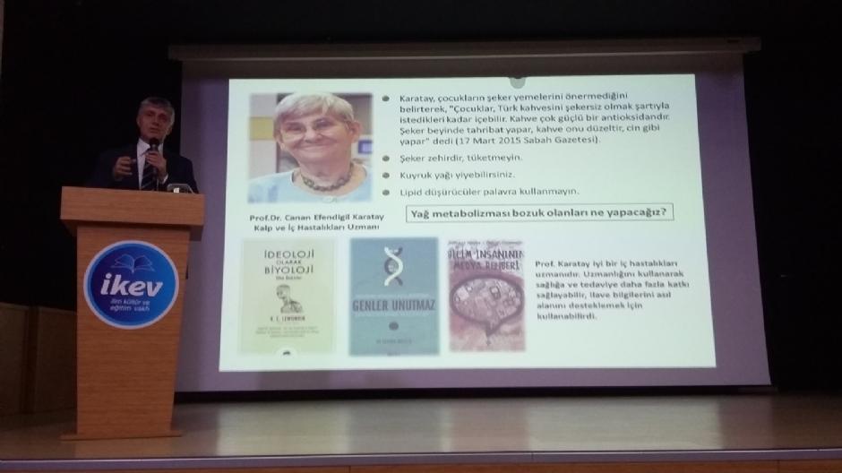 PROF. DR. UZBAY: ALGI İLE ÇIKAR ELDE EDENLERE KARŞI İRADEMİZİ EĞİTMELİYİZ - Haberler - İKEV - İlim Kültür ve Eğitim Vakfı